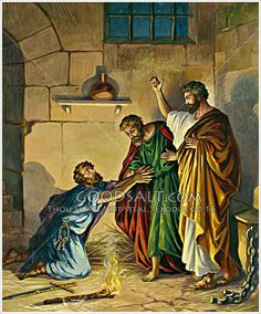 Paul in jail at Philippi Acts 16:19-34