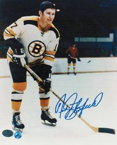 A lifelong Blackhawks fan, I became a Bruins fan when Phil Esposito was traded. His 1967-68 teammates - Fred Stanfield Boston Bruins - he was traded along with Phil Esposito
