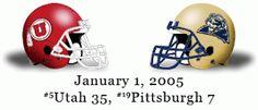 The Greatest Utah Football Games Ever: #2: 2005 Fiesta Bowl - Utah vs. Pittsburgh