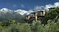 Hapuku Lodge, New Zealand - This sprawling property features exquisitely designed tree houses on a vast New Zealand deer farm. Treehouse Hotel, Building A Treehouse, Beautiful Streets, Beautiful Places, Amazing Places, New Zealand Hotels, Deer Farm, Cool Tree Houses, Tree House Designs