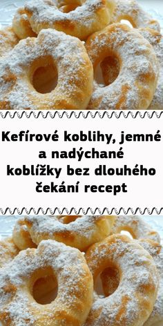 Kefir, Doughnut, Food And Drink, Menu, Sweets, Cooking, Breakfast, Recipes, Bags