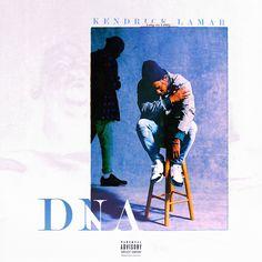Kendrick Lamar - DNA [1600x1600] : freshalbumart