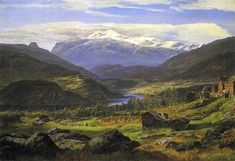 Monograffi - Nordic Landscapes. By J C Dahl. 1851