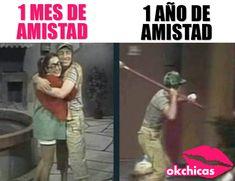 Amiga: te amo (aunque a veces quiera matarte) Memes Humor, Bts Memes, Jokes, Little Memes, Funny Spanish Memes, Little Bit, All The Things Meme, Sad Love Quotes, Funny Moments
