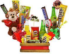 Candy Shop, Snack Recipes, Pastel, Ideas Para, Food, Gift, Gift Baskets, Boy's Day, Snack Mix Recipes
