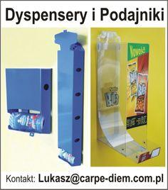 Podajniki grawitacyjne i dyspensery