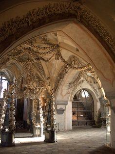 The Ossuary's interior.