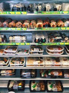 #Cucinagiapponese: il reparto piatti pronti di un #konbini! #Itadakimasu!