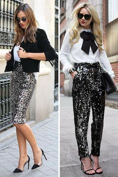 Both outfits are beautiful!