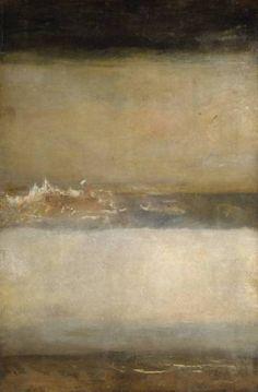 ericpenington:    J.M.W. Turner, Three Seascapes, 1827.