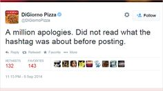 DiGiorno Is Really, Really Sorry About Its Tweet Accidentally Making Light of…