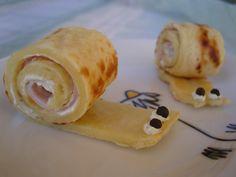 Ninas kleiner Food-Blog: Pfannkuchen-Schnecken