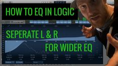How to EQ Sides in Logic Pro X Tutorial https://youtu.be/6576t5e5CK4