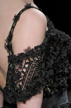 Elie Saab at Couture Spring 2011 - Details Runway Photos