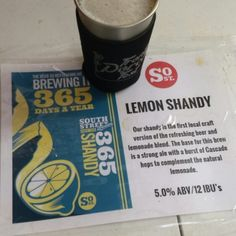 365 Shandy - South Street Brewery