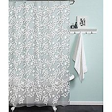 image of PEVA Silhouette Shower Curtain