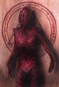 Eldritch Horror, Sci Fi Art, Horror Art, Occult, Dark Art, Colored Pencils, Watercolor Paintings, Creepy, Erotic