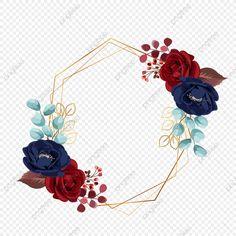 Elegant Flowers, Floral Flowers, Purple Flowers, Watercolor Flower Wreath, Floral Watercolor, Wedding Fair, Rose Wedding, Red And Pink Roses, Rose Gold Frame