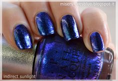 OPI DS Magic  by QueenMiSeRy @ miserylovesblue.blogspot.it