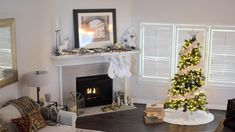 Have you grown dreary of your fireplace? It's time do some redecorating with these fireplace front ideas that will surely give your home a more homey look! Home Improvement Financing, Home Improvement Companies, Lowes Home Improvements, Home Improvement Projects, Fireplace Fronts, Christmas Interiors, Home Repairs, Dream Decor, Christmas Wallpaper