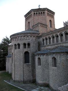 Monasterio de Ripoll (Girona). Cabecera.