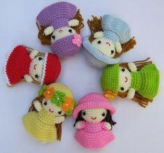 Amigurumi - Little dolls