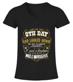 Best MY CRAFT MILLWRIGHT SHIRT   WOW! back Shirt WoW T-shirt