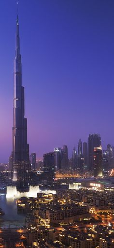 ドバイの街 Downtown Dubai