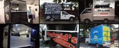 Not all food trucks are large converted bread trucks. They can also be small like these that operate in the Philippines. Starting A Food Truck, Sisig, Philippines Food, Food Trucks, Sweet Desserts, Street Food, Monster Trucks, Bread, Japanese Street Food