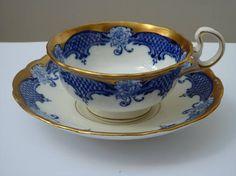 Samuel Radford Gertie cup with saucer 1890