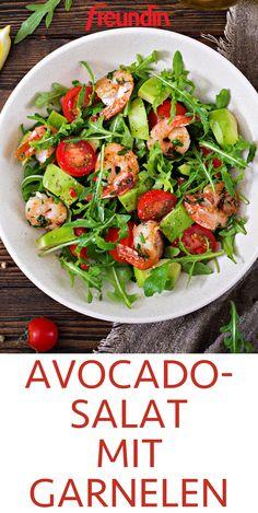 The perfect combination: delicious avocado meets crunchy shrimp. Try this recipe for avocado shrimp salad The perfect combination: delicious avocado meets crunchy shrimp. Try this recipe for avocado shrimp salad Shrimp Avocado Salad, Shrimp Salad Recipes, Avocado Recipes, Easy Salads, Healthy Salads, Healthy Recipes, Healthy Nutrition, Child Nutrition, Detox Recipes