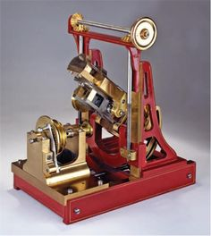 John Peer's 1874 gear-cutting machine in the Oval Office.