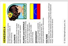 Venezuela Fact Card