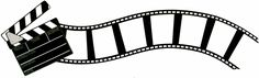 Movie Clap and Curved Flimstrip Border Laser Die Cut - Cool Pic Cinema Party, Movie Party, Silhouette Cameo, Outdoor Movie Nights, Hollywood Theme, Movie Themes, Film Strip, About Time Movie, Paint Shop