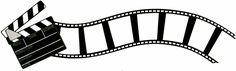 Movie Clap and Curved Flimstrip Border Laser Die Cut