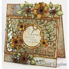Gallery | Vintage Floret Frame Card - Heartfelt Creations