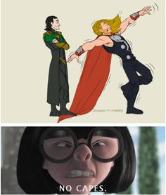 Bahahaha...Edna is always right.