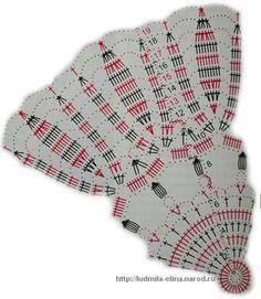 View album on Yandex. Thread Crochet, Crochet Doilies, Doily Patterns, Crochet Patterns, Crochet Diagram, Rubrics, Household Items, Knitting, Tablecloths