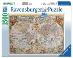 Ravensburger Puzzle 1500pc - Historical Map