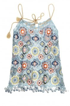 Bitiki Artisan Crochet Tank  | Calypso St. Barth