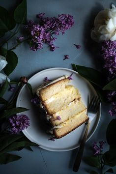 Lilac lovers cake