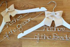 Vintage Bridal Wedding Dress Hangers Faux Pearl Retro Custom Birthday Gift