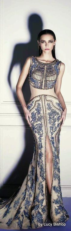 Dany Tabet Couture   S/S 2014 jaglady