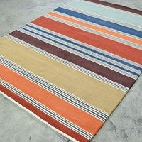 Harlequin Affinity Rugs 44701 in Gooseberry - Free UK Delivery - The Rug Seller Multicoloured Rugs, Colorful Rugs, Bold Colors, Colours, Selling Design, Hallway Runner, Stripes Design, Abstract Pattern, Outdoor Blanket