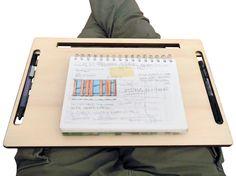 Laser cut woodlap deskdesk organizersmall writing desksofa tablebed desklaptop cooling padwood tablet standgeek giftscool stuff (49.00 EUR) by DigitalHandmade