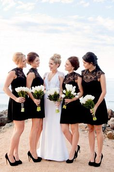 Black and White Wedding Dresses | Stay At Home Mum