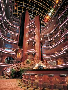 There will be music here... Carnival Elation Cruise Ship