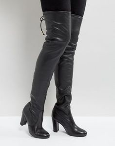 7e597562e14 Кожаные ботфорты Dune Sybil. High Heel BootsBootie BootsWedge BootsShoes  Heels BootsThigh High BootsHeeled BootsHigh HeelsTall BootsSexy Heels BootsWomen s ...