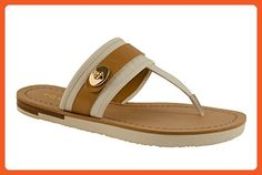 COACH Eileen Chalk/Nude Sandal 5.5 - Loafers and slip ons for women (*Amazon Partner-Link)
