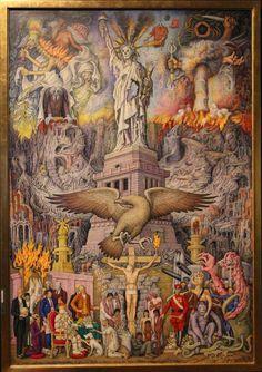 """El dinero y el poder """"Nuestra maravillosa civilizacion"""" - Juan O'Gorman 1976"""